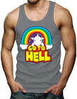 Go To Hell - Unicorn Rainbow Sarcastic Mythical Horse Imaginary Tank T-Shirt
