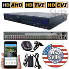 Sikker 32 CH Channel standalone DVR Recorder TVI CVI AHD Security Camera System