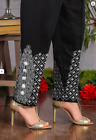 Indian/Pakistani Ladies readymade Shalwar/Pant Trouser Cotton Balls  (Stitched)
