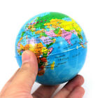 World Map Earth Globe  Squeeze Foam Ball Hand Wrist Exercise Stress Relief SPUS