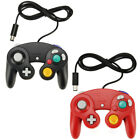 4 X For GameCube NGC GC Wii Controller Dual analog Wired Shock Game Pad Nintendo