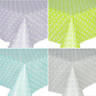 Delicate Daisy Chic Flower Wipe Clean PVC Tablecloth Table Cloth Cover Vinyl