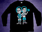New1 Long Sleeve Fresh Prince Jazz Bel Air shirt Blk aqua jordan 8 cajmear M L X