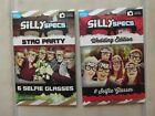 NEW: PACK of 6 SILLY SELFIE SPECS GLASSES - STAG PARTY or WEDDING EDITION