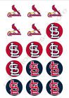 St. Louis Cardinals Edible Print Cupcake/Cookie Toppers Frosting Sheets 2 Sizes on Ebay