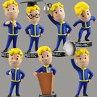 7 styles Action Toy Figure Fallout 4 Gaming Heads Vault Boy Bobbleheads 4.5''