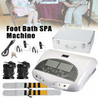 LCD Dual Ion Ionic Cell Aqua Foot Bath SPA Detox Cleanse Machine+ Belt