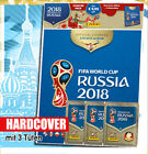 Panini WM 2018 Russia World Cup Sticker Album Tüten Display komplett Set Tin