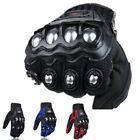 Mens Racing Gloves Hard Knuckle Motorbike Summer Fiber Bike Motorcycle Cycling