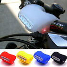Cycling Bicycle 7 LED Black Silicone Frog Lamp Warning Rear / Front Lights