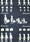 4 GRP COMBINE PEOPLE CAMEO SILHOUETTE TEEN FAMILY DIE CUTS* PUNCHI SUB-SETS READ