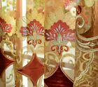 European Chenille Curtains Wedding Ceiling Hollowed Shades Sheer Tulle 1 Piece