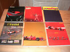 6x Ferrari YearBook 1995,1996,1999,2000,2001,Challenge 2001