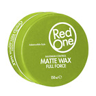 3x RedOne Haar Wax 150ml (Matt,Red,Blue,Orange,Violett,Grey,Black)