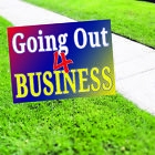 Going Out 4 Business Sales Business Retail New Advertising Coroplast Yard Sign