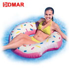 Inflatable Donut Swimming Ring Giant Pool Float Water Toys Inflatable Mattress
