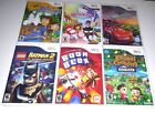Wii Wii-U Games & Case (NO MANUALS) ~ Animal Crossing Lego Mario Sonic Rayman