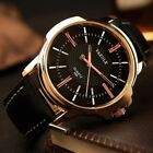 Men Watches Business Leather