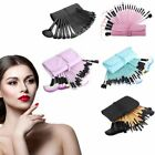 32 Pieces Soft Cosmetic Eyebrow Shadow Makeup Brush Set Kit