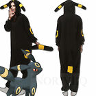 Lover Outfit Cosplay Pokemon Blue/Yellow Umbreon Pyjamas Adult Costume