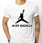 Air Goku Print T-Shirt Dragonball Dbz Son Goku Air inspired by Nike