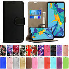 Case Cover For Huawei P Smart Y6 2019 P30 P20 Pro Lite Flip Wallet Leather Stand