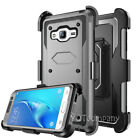For Samsung Galaxy On5 Case Hybrid Belt Clip Rugged Rubber Holster Phone Cover