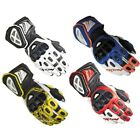 IXON RS PRO HP Motorcycle Leather Racing Gloves PPE cat 2. CE certified