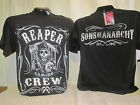 Sons of Anarchy T-Shirt Tee Reaper Crew SAMCRO Apparel TV Show SOA New 494