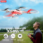 SYMA X56W 2.4Ghz RC Fodable Drones 6 Axis Gyro FPV Wifi HD Camera Quadcopter Toy
