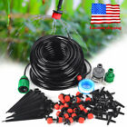 DIY Micro Drip Irrigation Auto Timer Self Plant Watering 25M Garden Hose System