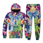 Women Men Rick and Morty chomper Pullover Hoodies Sweatshirt Tracksuit sweat NEW