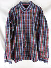 Tommy Hilfige 80´s Two Ply Cotton Button-Down Hemd langarm kariert XL