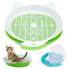litter box for cats - Toilet for Cats Sifting Cat Litter Box Pee Pad Tray Cat Litter Trainer Cleaning