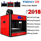 Tronxy C5 3D Printer FDM Printing Full Metal Aluminum profile Size 210*210*210mm
