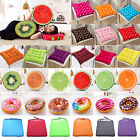 3D Tie On Chair Cushion Seat Pads Garden Dining Kitchen Office Soft Patio Pillow