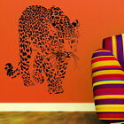 Leopard Big Wild Animal Big Cat Wall Sticker / Wall Decal Big Cat Transfers CA8