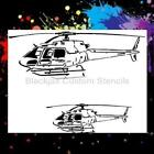 Helcopter Set Airbrush Stencil,Template