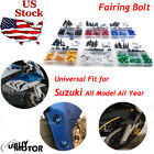 For Suzuki SV1000 2003-2011 Complete Bolt Motorcycle Fairings Clips Kits M5 M6