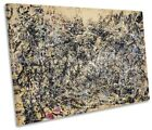 Jackson Pollock 1948 SINGLE CANVAS WALL ART Print