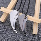 Stylish Pendant Men's Fashion Stainless Steel Jewelry Tooth Wolf Necklace