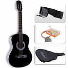 "38"" Beginners Acoustic Guitar with Guitar Case  Strap  Tuner&Pick Steel Strings"