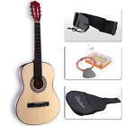 Acoustic Guitar with Guitar Case, Strap, TunerΠck Steel Strings Steel-stringed