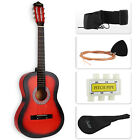 "38"" Beginners Acoustic Guitar with Guitar Case, Strap, Tuner&Pick Steel Strings"