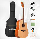 Acoustic Guitar with Guitar Case, Strap, Tuner&Pick Steel Strings Steel-stringed <br/> Gifts for Beginners✔High Precision Knob✔Preferred Wood✔