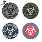 EMERSON Tactical Patch  Badge PVC Zombie Outbreak Paintball Tactical SWAT 5555