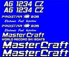 2+Color+MasterCraft+Prostar+205+EFI+Full+set+%234+w%2F+Matching+Registration+Numbers