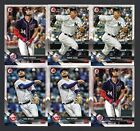 2018   BOWMAN 6 CARD STAR LOT AARON JUDGE,X2,BRYCE HARPER X2,KRIS BRYAMT X2