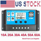 10/20/30A Dual USB Solar Panel Battery Regulator Charge Controller 12V 24V