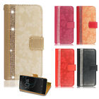 For Sony Xperia 10 L3 XA Leather Wallet Stand Magnetic Glitter Flip Case Cover